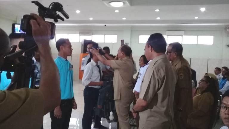 180 Generasi Muda Kota Kupang Ikut Diklat Politeknik Penerbangan Surabaya