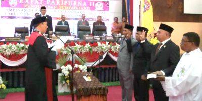 Pimpinan DPRD Ende Dilantik