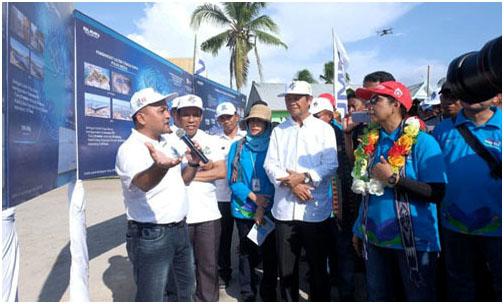 Menteri BUMN Resmikan Lima PLTS Di NTT