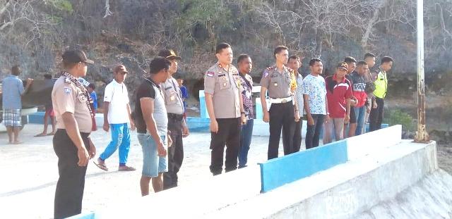 Polres Rote Ndao Jamin Keamanan Festival Mulut Seribu