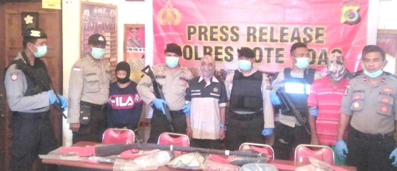 Polres Rote Ndao Ungkap Kasus Pembunuhan Marince Ndun