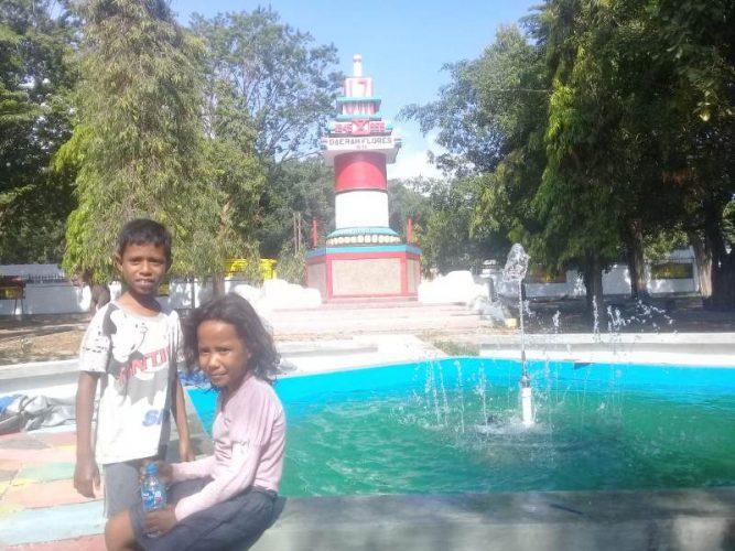 Taman Rendo Jadi Alternatif Wahana Bermain Anak di Kota Ende