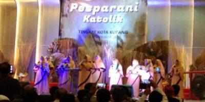 Pembukaan Pesparani Tingkat Kota Kupang disemaraki Lagu Qasidah