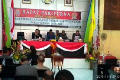 Pemda dan DPRD Ende Tandatangani Nota Kesepakatan KUA-PPS 2020