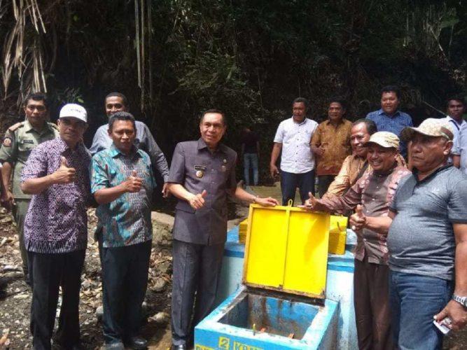 Bupati Ende Resmikan Air Bersih di Tanazozo