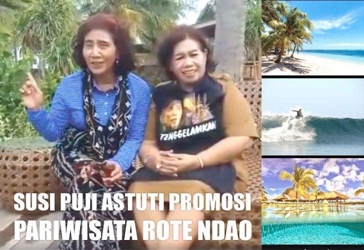 Susi Puji Astuti Promosi Pariwisata Rote Ndao
