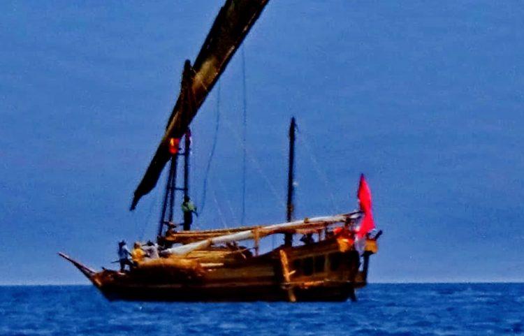 Napak Tilas Perahu Padewakang, Singgahi Kota Larantuka Sebelum ke Australia