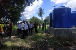 Desa Tanali Ende dapat Bantuan CSR Bank Mandiri