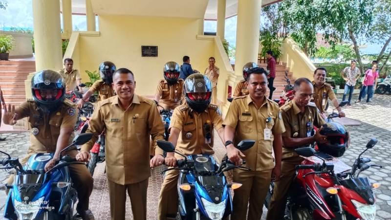 10 Unit Sepeda Motor untuk Sekcam di Rote Ndao