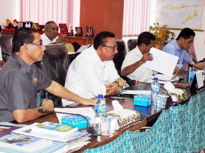 Komisi I DPRD NTT rapat dengan Kominfo