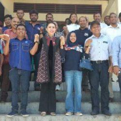 Di Ende, Julie Sutrisno Siap Perjuangkan Kepentingan Masyarakat NTT di Senayan
