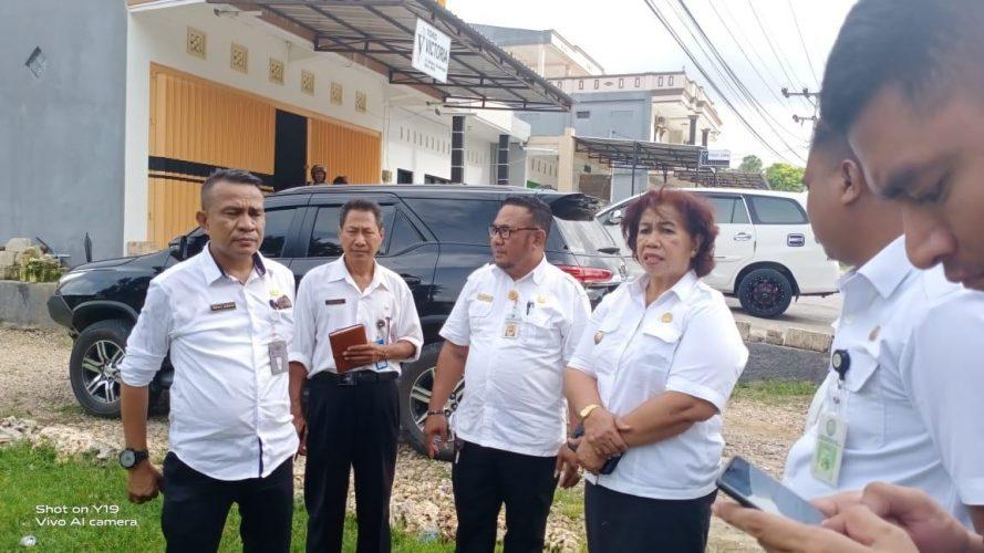 Akan Dipugar, 12 PKL Direkolasi ke Tempat Jualan Sementara