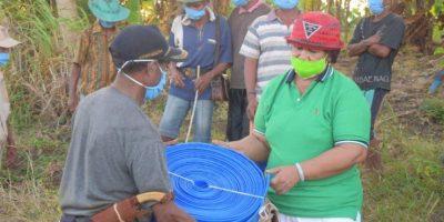 Bupati Rote Bantu Pompa Air Untuk Petani dan Peternak Sanggaoen