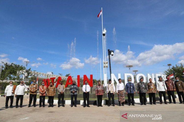 Mahfud MD dan Mendagri pantau perbatasan Indonesia-Timor Leste