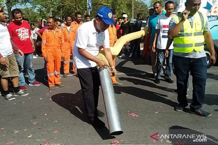 PKB Kota Kupang Kritisi Masalah Mobil Penyapu Jalan Senilai Rp 4 Miliar Yang Mubazir