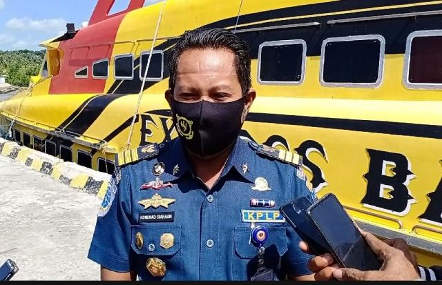 UPP Ba'a Terus Mengawasi Protokol Kesehatan Dalam Pelayaran