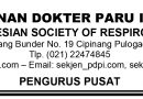 Himbauan Perhimpunan Dokter Paru Indonesia (PDPI) Terkait Update Transmisi Covid-19