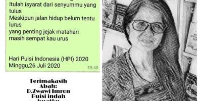 Di Hari Peringatan Hari Puisi Indonesia, Ada Nama Mezra Pellondou dari NTT