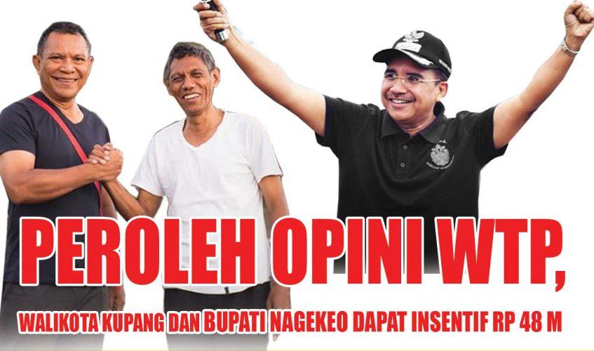Kota Kupang Raih Opini WTP