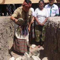 Wabup Kupang Lakukan Peletakan Batu Pertama Gereja Pos Pelayanan Ebenhaezer Rium