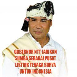 Gubernur NTT Jadikan Sumba sebagai Pusat Listrik Tenaga Surya untuk Indonesia