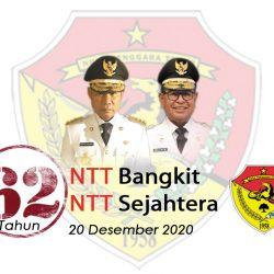 NTT 1958-2020, berusia 62 Tahun