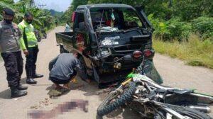 Kronologi Kecelakaan Maut di Lembata yang Tewaskan Anggota TNI Koramil 03 Lewoleba