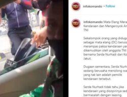 Viral Video Anggota TNI Dikeroyok Debt Collector, Kronologi