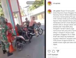 Viral Video Oknum TNI di Sikka Pukul Petugas SPBU, Pelaku Minta Maaf