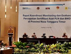 KPK: Perkuat Koordinasi untuk Dorong Percepatan Sertifikasi Aset PLN dan BMD di NTT