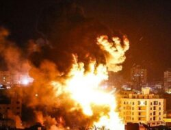 Belum Sebulan Genjatan Senjata, Israel Kembali Serang Jalur Gaza