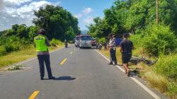 kecelakaan di jalan trans flores