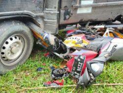 Pick-up Tabrak Motor di Manggarai, Anak Selamat, Ayah Meninggal Dunia
