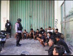 Pesta Miras di HUT-RI ,Belasan Pemuda di Sikka Diamankan Aparat Keamanan