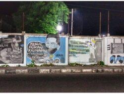 Pegiat Street Art Maumere Kritik Pemerintah Melalui Mural