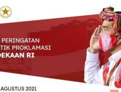 Link StreamingUpacara Peringatan Detik-Detik Proklamasi Kemerdekaan RI 17 Agustus 2021