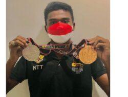 Raju Sena Atlet Selancar Asal NTT Raih Dua Medali di PON XX Papua